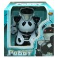 Робот радиоуправляемый 22см, белый, свет, звук, запись функций, размер 22х22х15,5см