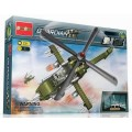 """Конструктор """"Военный вертолет"""", 231 деталь Banbao (Банбао)"""