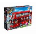 """Конструктор """"2-х этажный автобус"""", 412 деталей. Banbao (Банбао)"""