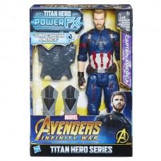 Avengers Movie. Капитан Америка Пауэр Пэк, фигурка