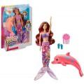Barbie. Кукла Barbie Морские приключения Русалка -трансформер