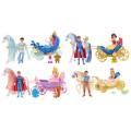 Disney Princess. Набор Маленькое королевство, мини-кукла с принцем, с каретой и лошадкой
