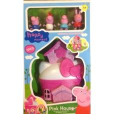 Игровой набор Peppa Pig Розовый Дом Пеппы и ее друзей