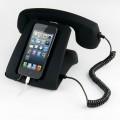 Ретро телефон к мобильному устройству (черный)